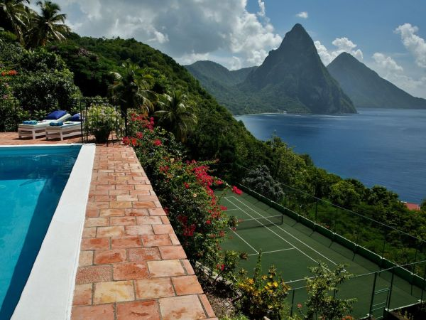 Accommodations in St. Lucia