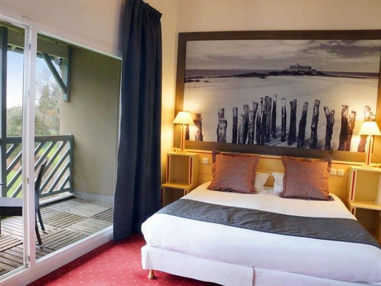 chambre de l'hotel Golf