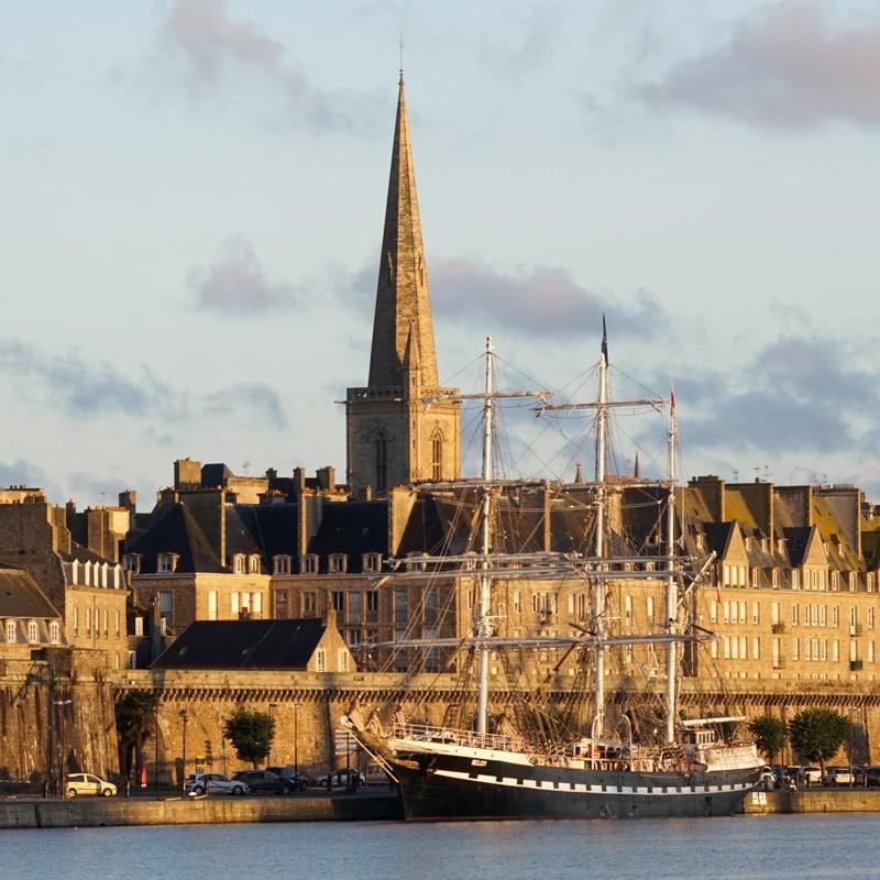 Saint-Malo les remparts