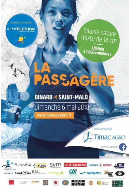 Trail La Passagère Dinard Saint-Malo
