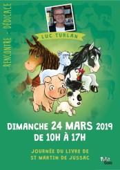 Journée du livre 2019 - affiche Luc Turlan - copie
