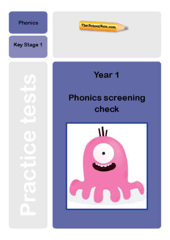 Phonics screening mock test 7