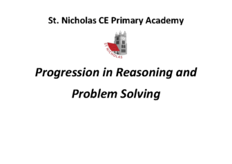 Progression in Reasoning