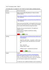 thumbnail of Coronavirus contingency plans- Year 2 Week 3
