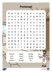 thumbnail of Pentecost wordsearch