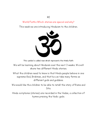 RE Hinduism 1