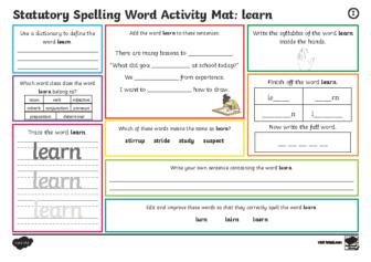 Activity Mat 12