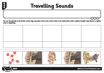 Activity Sheet Travelling Sounds