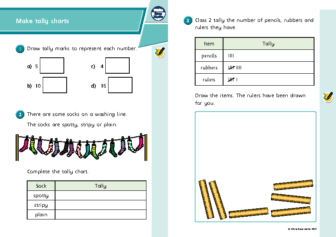 Monday L-1-worksheet-Make-tally-charts