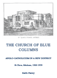 The Church of Blue Columns