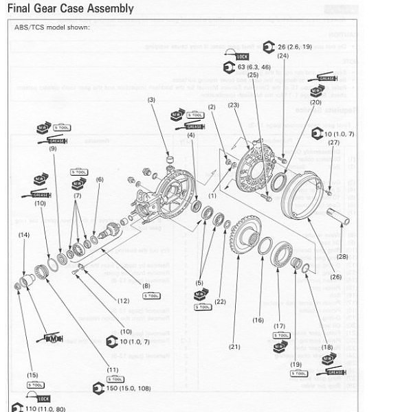 Driveshaft and U-Joint Replacement ( ST1100 ) *