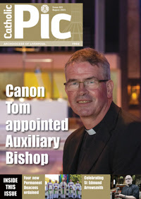 Cover of August 2021 issue of Catholic Pic