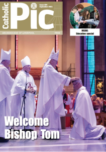 Cover of September 2021 issue of the Catholic Pic