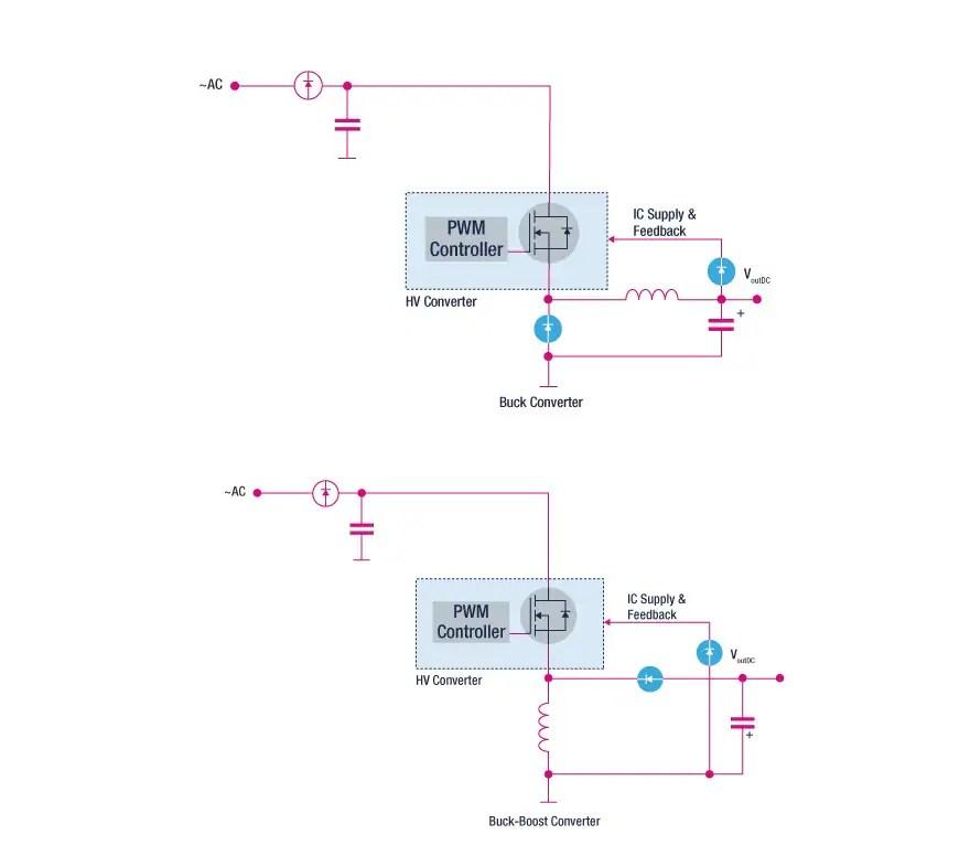 circuit diagram of buck boost converter travel trailer plug wiring converters stmicroelectronics