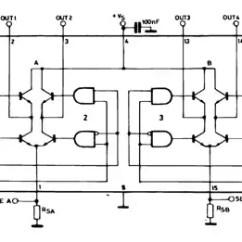 L298 H Bridge Circuit Diagram Ford Radio Wiring 2006 Dual Full Driver Stmicroelectronics