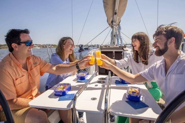 St Augustine Sailing brunch sailing cruise