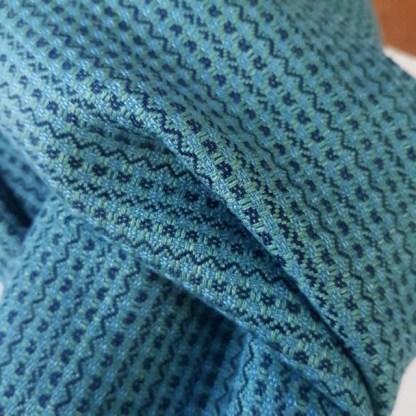 blauwgroene sjaal