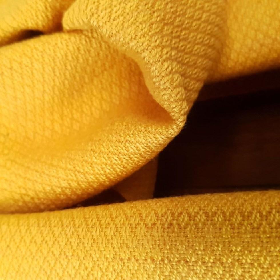 detail van de sjaal
