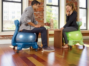 ball chair base only monogrammed lawn chairs top 7 stability reviews for improved health posture playing a game with gaiam balance