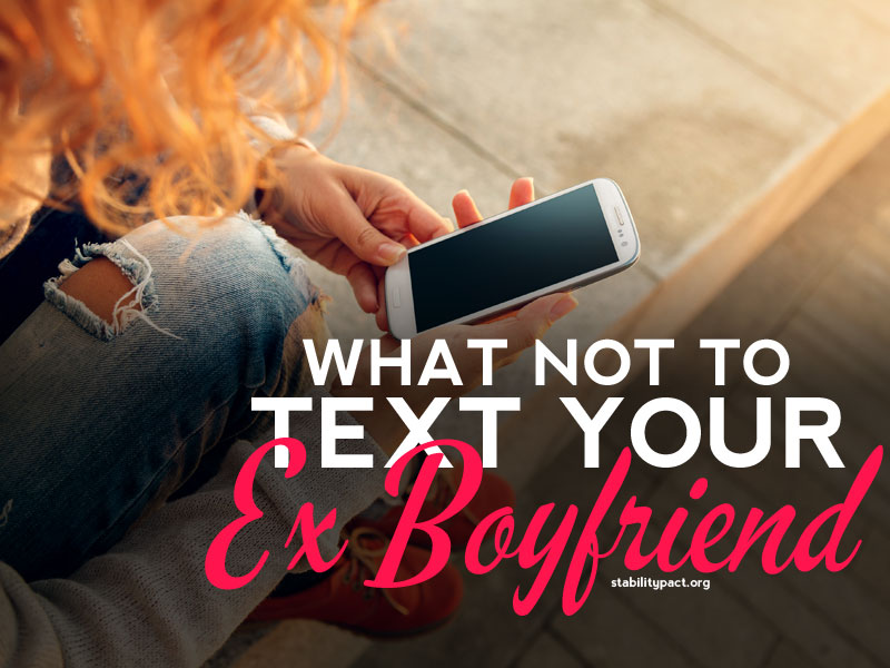 texts to send your ex