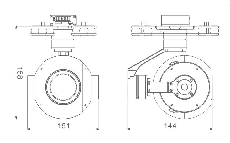 Professional 30x Optical Zoom Camera + Stabilizer Gimbal