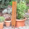 Ehrfürchtig Edelrost Garten Design