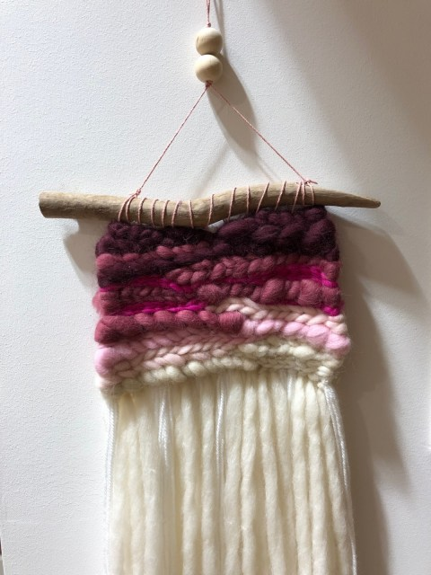 Weaving Improvers Class with Jess Weave