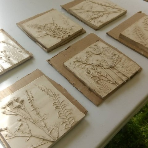Botanical Tiles workshop with Jess