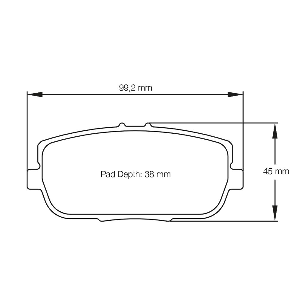 Pagid U8077 Brake Pads-Stable Energies