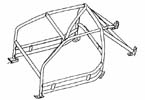 Roll Cage Kit,911 Coupe up to 1989-Stable Energies