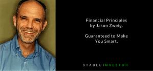 Financial Principles by Jason Zweig. Guaranteed to Make You Smart.