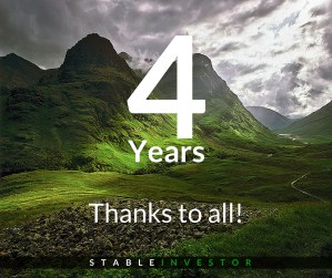 Stable Investor Completes 4 Years – My Letter to You