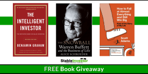 FREE Book Giveaway – Stable Investor completes 6 Years!