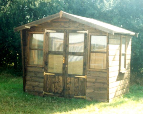 Free garden summer house plans