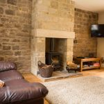 Self-catering accommodation in Northumberland, Crispin cottage living room