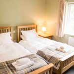 Self-catering accommodation in Northumberland, Crispin cottage twin bedroom