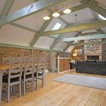 Self-catering cottage in Northumberland, Millstone cottage dining and living room