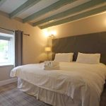 Self-catering cottage in Northumberland, Millstone cottage second super king bedroom