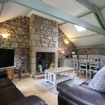 Self-catering cottage in Northumberland, Old Mill cottage living room