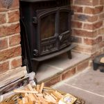 Self-catering cottage in Northumberland, Roe Deer log burner