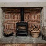 Stablewood Coastal Cottages Fireplace