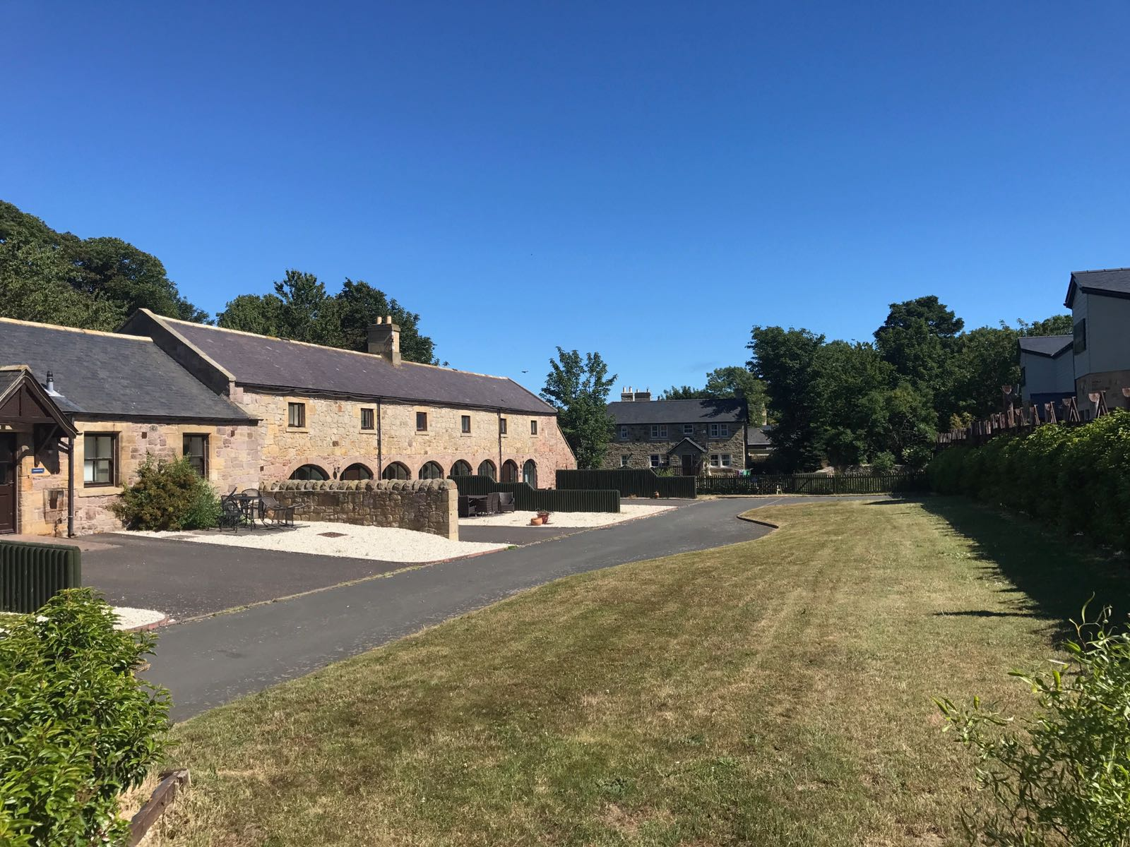 Self-catering holidays in Lucker, Northumberland