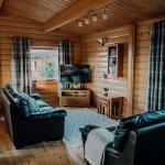 Stablewood Coastal Cottages Brown Owl Living Room Northumberland Cottages