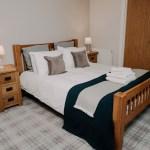 Stablewood Coastal Cottages Goosander Double Bedroom
