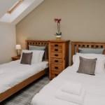 Stablewood Coastal Cottages Goosander Twin Bedroom Northumberland Cottages