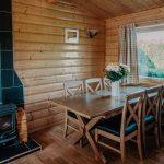 Stablewood Coastal Cottages Grey Heron Kitchen/Dining Room