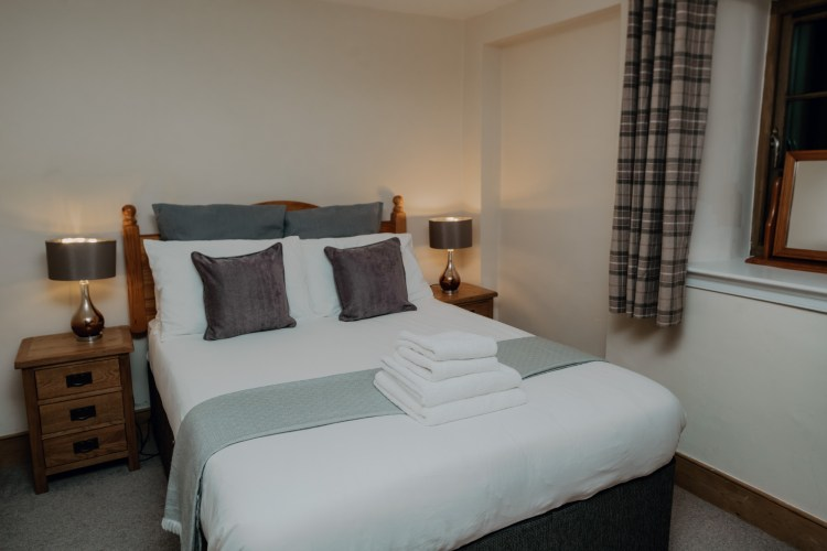Stablewood Coastal Cottages Grey Seal Double Bedroom Northumberland Cottages