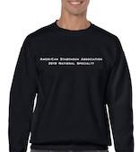 black front sweatshirt