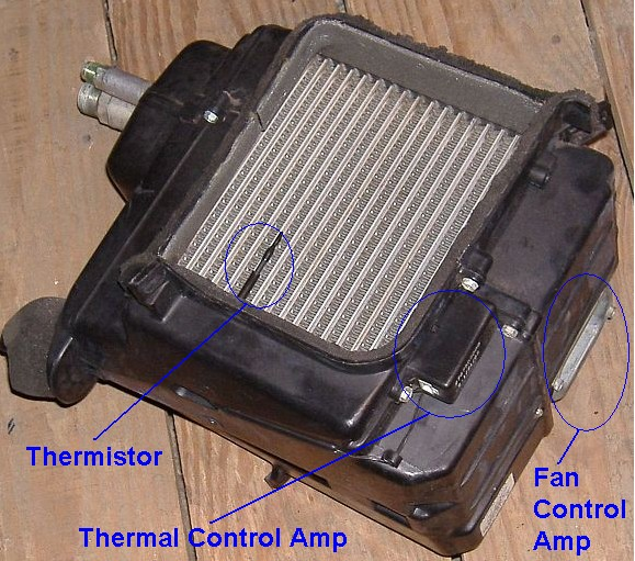 Xterra System 2001 Cooling Nissan