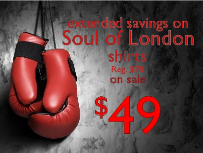2014 Boxing Week Soul of London Staccato Vancouver